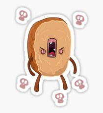 Evil tastes of Cinnamon Sticker