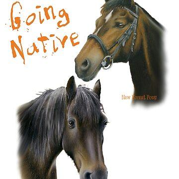 Going Native by dapplegreyart