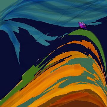 Man on a mountain by smarton
