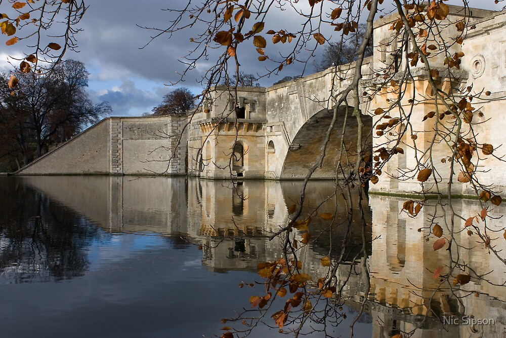 Blenheim Palace bridge by Nic Sipson
