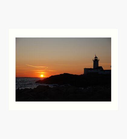 Eastern Point Sunset - Gloucester, Massachusetts Art Print
