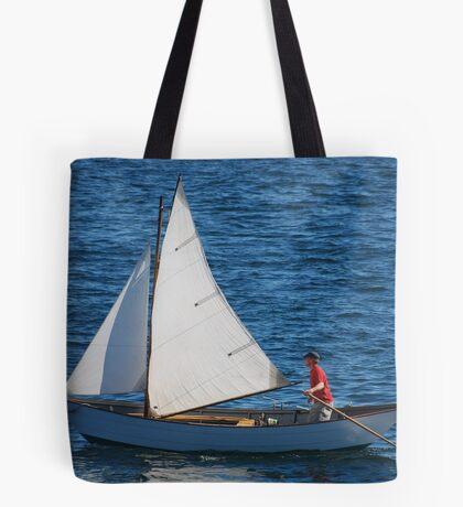 Tom's Sail Dory  Tote Bag