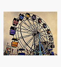 Yesterday at the Fair Photographic Print