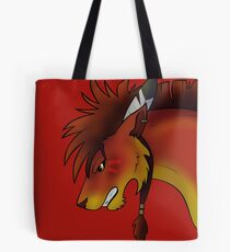 Red XIII Tote Bag