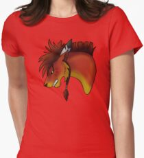 Red XIII Fitted T-Shirt