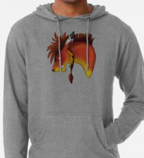 Red XIII Lightweight Hoodie