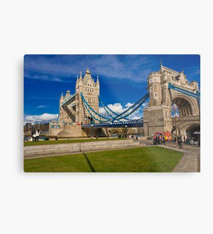 Tower Bridge: London, UK. Metal Print