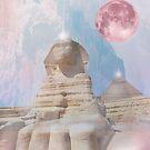 Moonlight Sphinx  by MarleyArt123