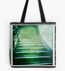 it was with speed that i fled... Tote Bag