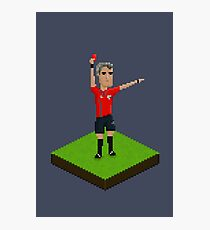 Red Card Photographic Print