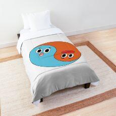 Yin and Yang Gumball and Darwin Comforter