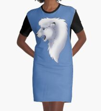 Leo Graphic T-Shirt Dress