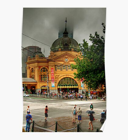 Flinder's Street Station Poster