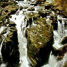 """Hermitage Falls, Perthshire""  by Bradley Shawn  Rabon"