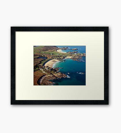 Corblet's Beach - Alderney Framed Print