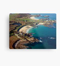 Corblet's Beach - Alderney Metal Print
