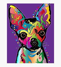 Chihuahua Art Photographic Print