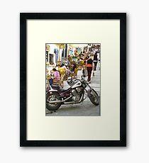 Cool Caf Framed Print