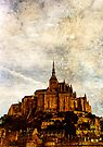 Mont Saint Michel, France by David Carton