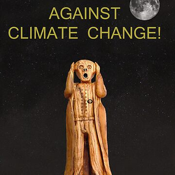 Scream Against Climate Change by kempson