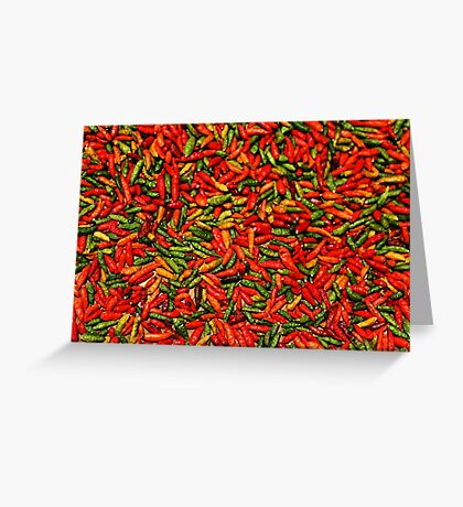 Chilis Greeting Card