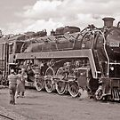 Locomotive 6060,Stettler, Alberta,Canada by Adrian Paul
