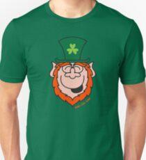 St Paddy's Day Leprechaun Laughing Unisex T-Shirt