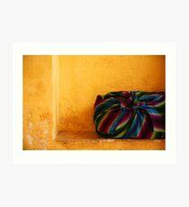 Colour Bag Art Print