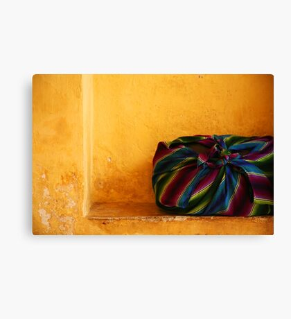 Colour Bag Canvas Print