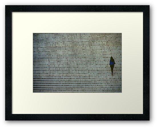Paris - Ascension by Jean-Luc Rollier
