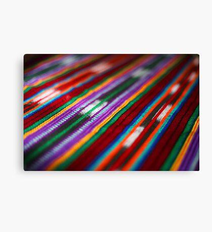 Guatemalan Colours Canvas Print