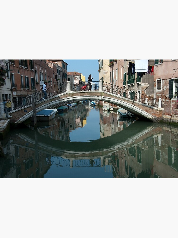 Crossing the Bridge, Venice, Italy by leemcintyre