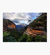Green Canyon Photographic Print