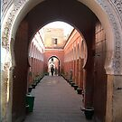 Leaning Arches of Medina by RightSideDown