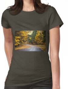 Autumn Morning Womens Fitted T-Shirt