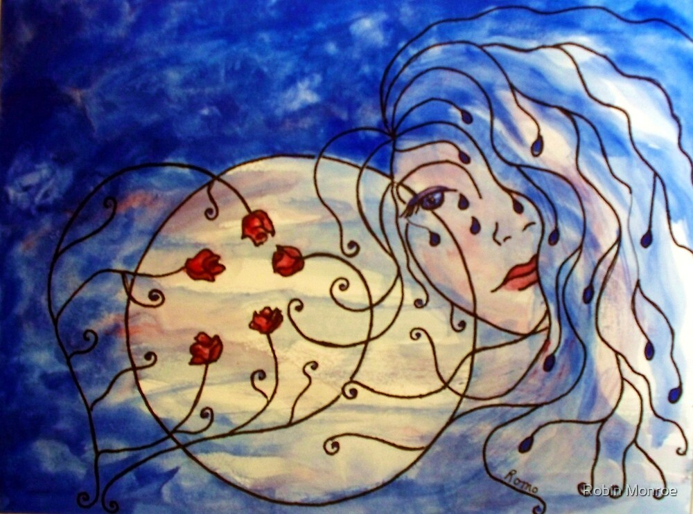 Blue Moon... by Robin Monroe