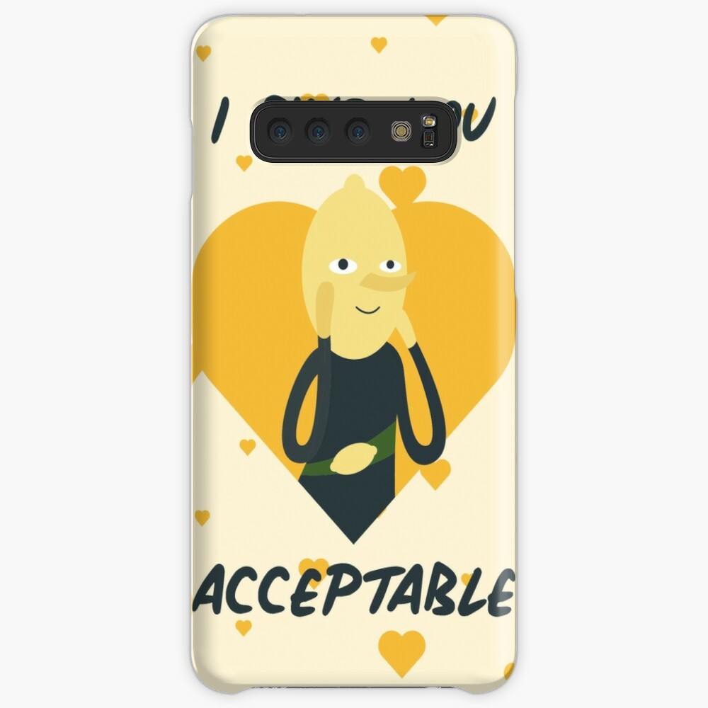I Find You Acceptable (Adventure Time) Case & Skin for Samsung Galaxy