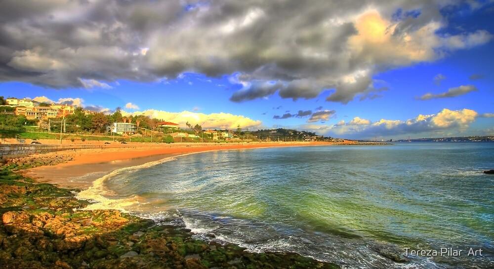 caxias beach by terezadelpilar ~ art & architecture