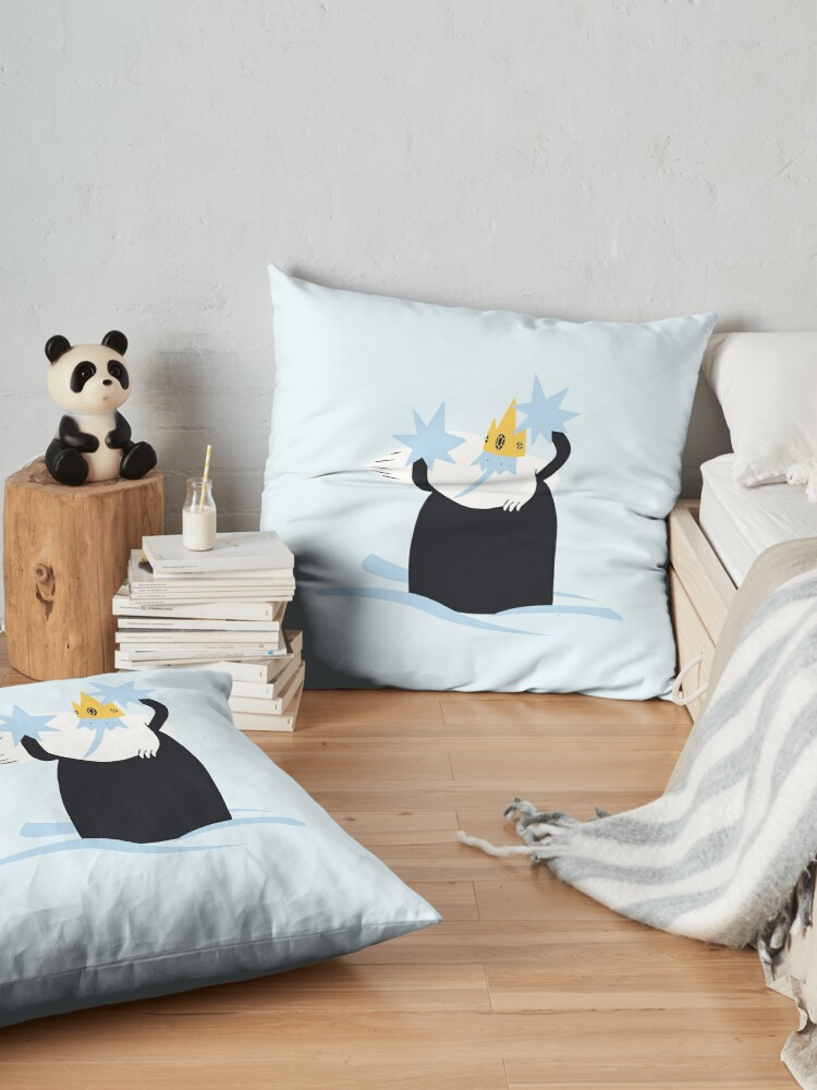 Alternate view of Ice King (Adventure Time) Floor Pillow