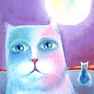 Under the Moon: Cats by Lana Wynne