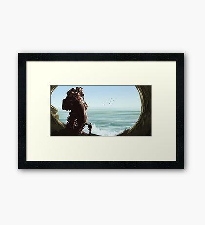 Beyond the Sea Framed Print