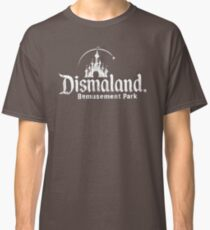 Black and white Dismaland Classic T-Shirt