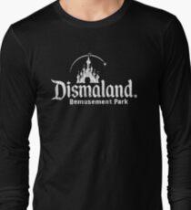 Black and white Dismaland Long Sleeve T-Shirt