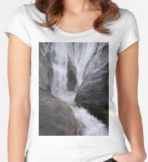 Waterfall Fitted Scoop T-Shirt