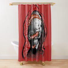 Seis Manos Skull  Shower Curtain
