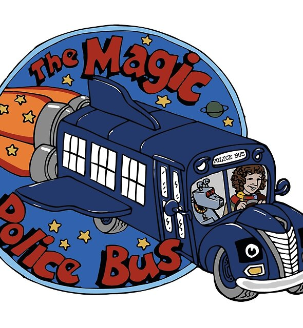 The Magic Police Bus by NeonDonut