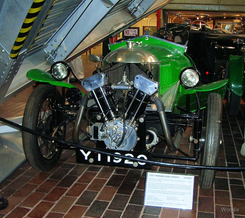 1927 Morgan Aero Sports. by Woodie
