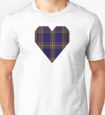 00461 Blue Matheson Hunting Tartan  T-Shirt