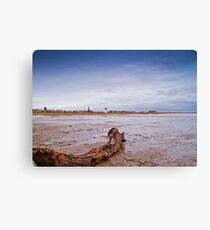 Jetty View Canvas Print