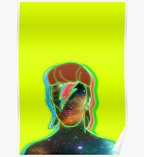 STARMAN/ Neon nostalgia tribute Poster
